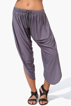 Wang Pants - Grey