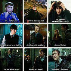Neville's most memorable lines.