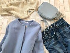 寒い朝は3分コーデ!時短でもきれいが増す「毎日同じ」にならない服 | ファッション誌Marisol(マリソル) ONLINE 40代をもっとキレイに。女っぷり上々! Casual Fall Outfits, Fall Winter Outfits, Winter Fashion, Summer Outfits, Japan Fashion, Fashion Outfits, Womens Fashion, African Fashion, Mom Jeans