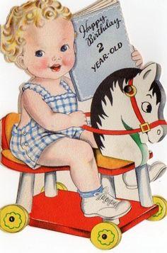 Birthday Card Little Boy
