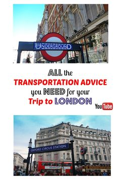 Visiting London for the first time? This YouTube vlog is a guide to transportation in London which includes bus, train, cab and airport information from an American expat living in London.