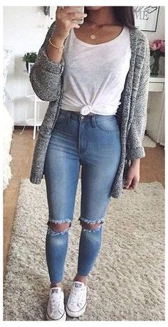 Winter Outfits For Teen Girls, Simple Summer Outfits, Trendy Fall Outfits, Cute Winter Outfits, Teen Fashion Outfits, Diva Fashion, Mode Outfits, Cute Casual Outfits, Outfits For Teens