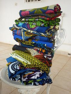 Fabric from my department store aka Malama Thomas Street, Freetown