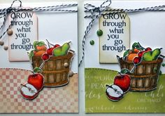 #clubscrap, Orchard kit cards, Cyndy R.