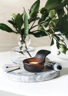 Glo candle holder