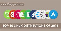 In this article we are going to discuss about top 10 most popular Linux distributions of 2016 based on Distrowatch hits.