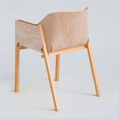 plywood chair - anon