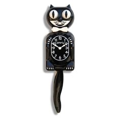 Classic Black Kitty-Cat - Made by Kit-Cat Klock® *** To view further for this item, visit the image link. (This is an affiliate link) #Clocks