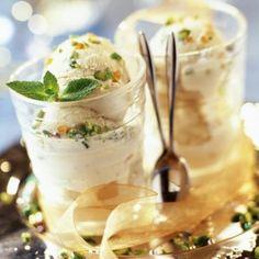 Nougat glacé à la pistache