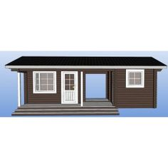 Saunamökki Haukka Garage Doors, Shed, Outdoor Structures, Outdoor Decor, Home Decor, Decoration Home, Room Decor, Home Interior Design, Carriage Doors