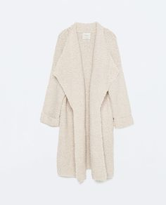 LONG KNITTED CARDIGAN-View all-Knitwear-WOMAN | ZARA United States