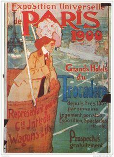Vintage Poster - Paris - Expo - 1900.
