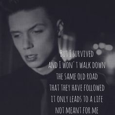 Andy Black!!! They don't need to understand!! Love. This. Song!!! But these r my favorite lyrics from the song that spoke to me the most!