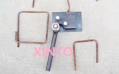 Manual rebar bender portable construction building bending machine tool