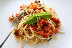 FoodShot #7: Buckwheat spaghetti with pesto