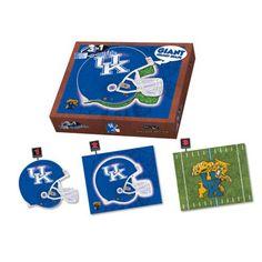 New! 3 In 1 Puzzle - University of Kentucky #KentuckyWildcats
