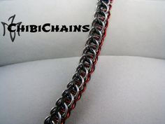 Bracelet - Flat Full Persian Back by Chibichains on DeviantArt #Chainmail #chainmaille #Flatfullpersian #bracelet #Chibichains