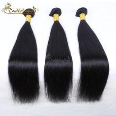 84.88$  Watch here - http://alizxh.worldwells.pw/go.php?t=32780911771 - Free Shipping Brazilian Virgin Human Hair weft 3pcs Lot Silk straight Bundles Double Strong 100% Virgin Brazilian Human Hair  84.88$