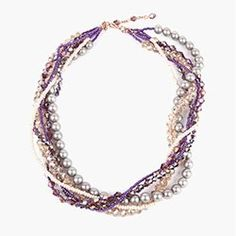 Crystal Torsade Necklace | Take a Make Break