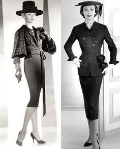 https://flic.kr/p/nFVd7B | irene-suits | ww.bluevelvetvintage.com/vintage_style_files/2014/01/06/the-california-elegance-of-irene-lentz/irene-suits/  Elegance admired from far afield!