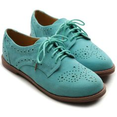 Ollio Women's Lace Up Wing Tip Casual Shoe Dress Low Heel Multi Colored Oxford (5.5 B(M) US, Mint) Ollio, SHOE FASHION if you wish to buy just CLICK on AMAZON right HERE http://www.amazon.com/dp/B00FX95D4G/ref=cm_sw_r_pi_dp_HKm2sb1M5Y4S2K06