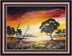 How to Paint A Sunset – Paintwithlen.com