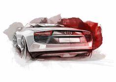 2010 Audi e-tron Spyder Concept by Audi