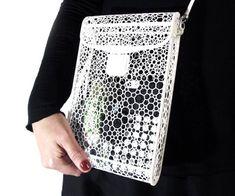 3D Printed Voronoi Bag | DudeIWantThat.com