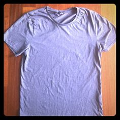 Blue/gray colored Divided T. Women's M. Good condition. Color is grayish blue. Photos didn't capture the color perfectly. 30% off 2 or more items from my closet Bundle up! Divided Tops Tees - Short Sleeve