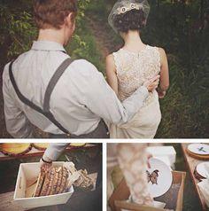 Plum Tree Weddings | Wedding blog featuring simple stylish modern wedding ideas: An Enchanted Forest Wedding