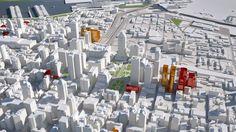 3d city: