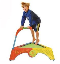 Trampoline--a tool a child with SPD cannot live without