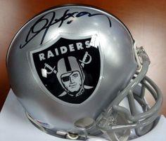 Bo Jackson Oakland Raiders Autographed Items