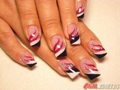 Sun devil pride pitchfork nails nails pinterest red devil nails prinsesfo Choice Image
