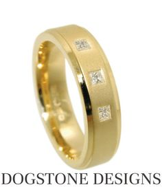 Mens Diamond Wedding Ring Yellow Gold Flat Court Band By Dogstone Designs Contact - 0161 4910624 Wedding Rings For Women, Wedding Men, Diamond Wedding Rings, Wedding Ideas, Wedding Finger, Gold Flats, Jewels, Engagement Rings, Band