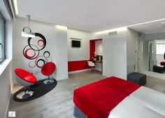 Habitacion de hotel LdAm Arquitectos. www.laboratoriodearquitectura.info