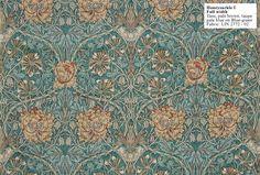 Historic Style - Honeysuckle I by William Morris