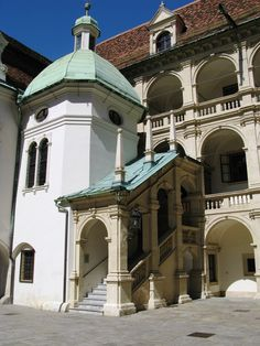"""Renaissance Stairwell"", Landtag, Graz, Austria  http://www.travelandtransitions.com/austria-travel/"