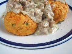 PaleOMG – Paleo Recipes – Biscuits and Gravy