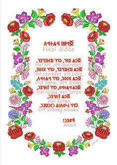 Házi áldás rovással és betűkkel Runic Alphabet, Runes, Hungary, Language Arts, Hit, American Girl, Traditional, Tattoos, Mandala
