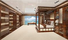 Stefano Ricci Presents the New Bespoke Interiors of its Luxury Yacht Division