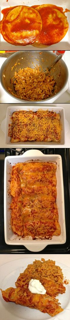 chicken chipotle enchiladas | cooking from the heart