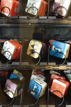 #Fossil tin vending machine. #callingallcurious