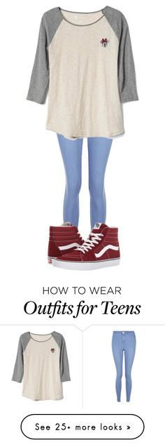 """2 Weeks Til' Disney❗️"" by sydthekyd01 on Polyvore featuring New Look, Gap and Vans"