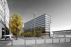 edburg.com | architekturvisualisierung | Europaalle, Baufeld B | für Stücheli Architekten 1.Rang 3d Rendering, Multi Story Building, Architects