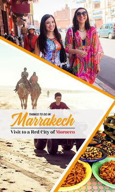 Things to do in Marrakech – Visit to a Red City of Morocco Beautiful Places To Visit, Wonderful Places, Marrakech Things To Do, Morocco Travel, Holiday Destinations, Wander, Stuff To Do, Africa, Culture