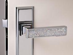 Swarovski crystals home decoration door knob