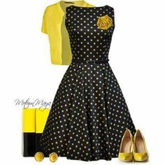 yellow black and white outfit | Gommap Blog
