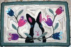 Hooked by: Linda Long Pattern name: Double Dutch Designer: Nancy Ariagno, Spruce Ridge animblethimble.com
