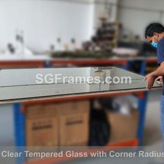 We have arranged a site visit and customized the glass. We have done the FOC delivery as his Bill value is above 1K. The finishing and fitting are great. Customer very happy with our service and assured for more orders in future.  #SGFrames #SGFramesChinaTown #SGFramesToaPayoh #InteriorDecoration #HomeDecor #TableTopGlass #SingaporeGlassMaker #SingaporeGlassMerchant #DoorStepDelivery #CustomGlassMaker #SpecialCorner #SiteVisit #OnSiteMeasurement #TemperedGlass #Clear #WorkingTable Industrial Park, Site Visit, Custom Glass, Free Quotes, Singapore, Interior Decorating, Delivery, Future, Frame